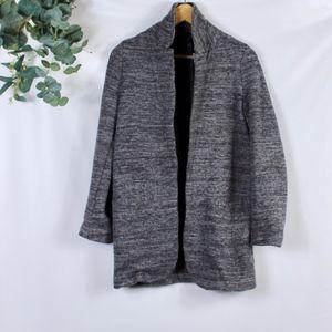 ASOS long blazer cardigan